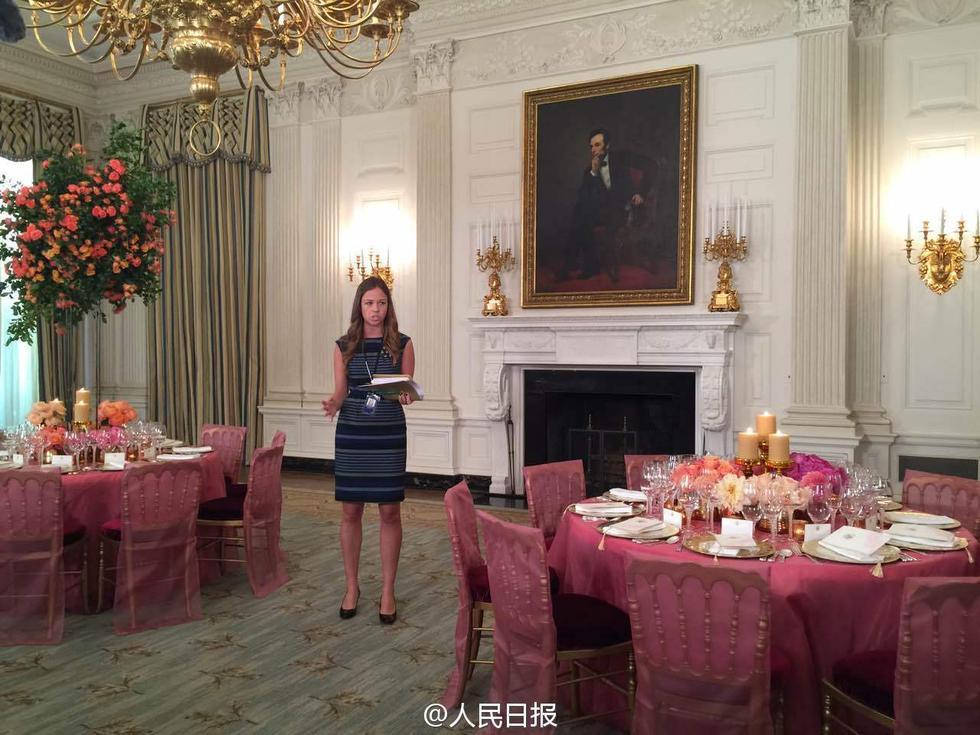 白宫 国宴