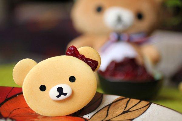轻松熊蔓越莓铜锣烧 只准看不准吃!