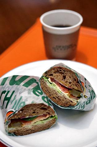 没时间的人买个三明治也行