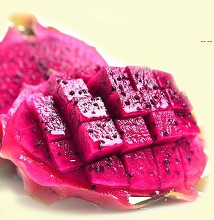 火龙果内层粉红色果皮抗辐射 富含丰富花青素