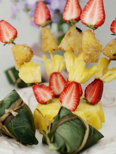 双子座--水果粽子串