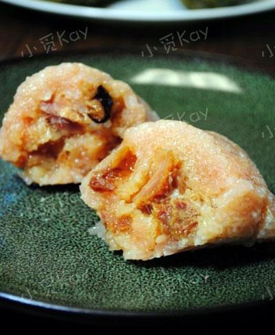 射手座--香菇叉烧肉粽