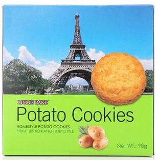 曼仕比 进口 马铃薯曲奇饼干