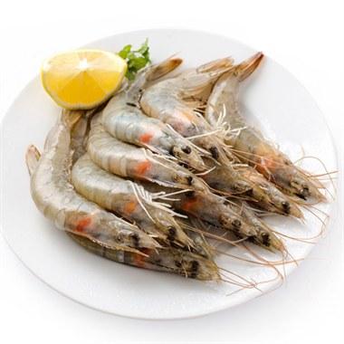 厄瓜多尔进口白虾 20只/盒 新鲜活冻